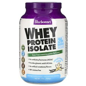 Блубоннэт Нутришен, Whey Protein Isolate, French Vanilla, 2 lbs (924 g) отзывы покупателей