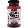 Bluebonnet Nutrition, L-Carnitine, 500 mg, 100 Licaps
