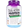 Bluebonnet Nutrition, Dual-Action Protein, Whey + Casein, Natural French Vanilla, 2.1 lbs (952 g)