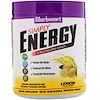 Bluebonnet Nutrition, Просто энергия, Вкус лимона, 10,58 унц. (300 г)