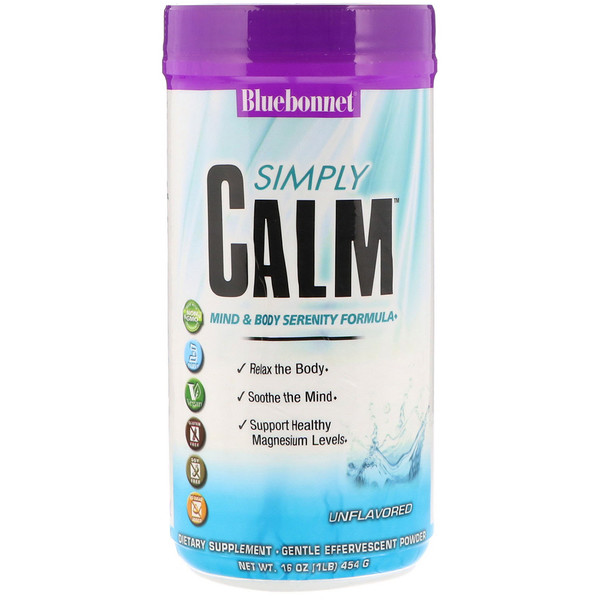 Simply Calm, Unflavored, 16 oz (454 g)