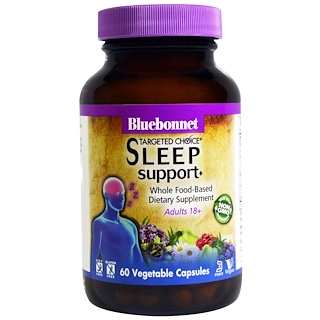 Bluebonnet Nutrition, Targeted Choice, Sleep Support, 60 Veggie Caps