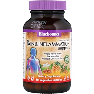 Bluebonnet Nutrition, Targeted Choice, Pain & Inflammation Support, 60 Vegetable Capsules