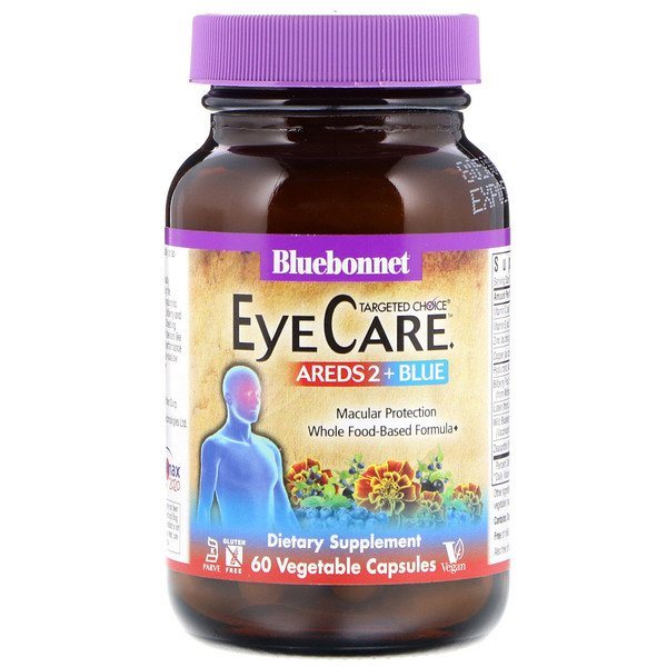 Bluebonnet Nutrition, Targeted Choice, Eye Care, 60 Vegetable Capsules (Discontinued Item)