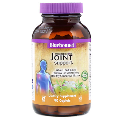 Bluebonnet Nutrition Targeted Choice, Joint Support, 90 Caplets