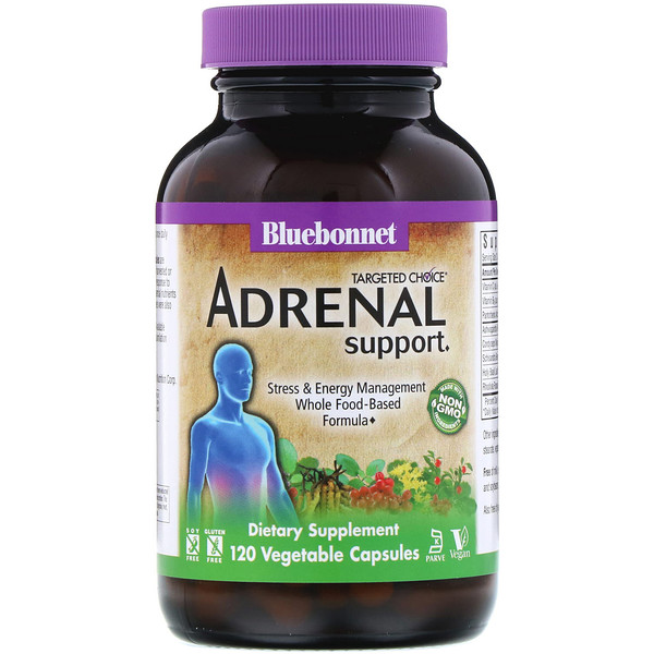 Targeted Choice, Adrenal Support, 120 Vegetable Capsules