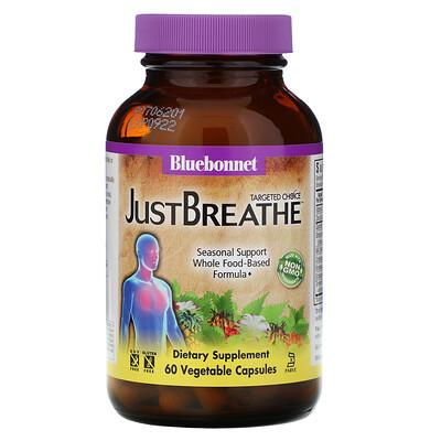 Купить Bluebonnet Nutrition Targeted Choice, Just Breathe, 60растительных капсул