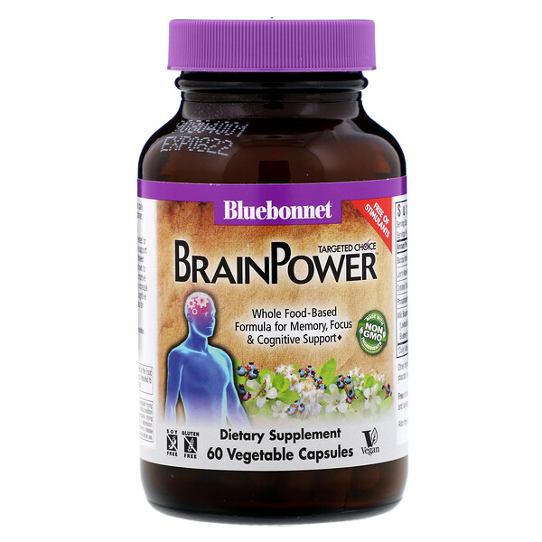 Targeted Choice, BrainPower, 60 Vegetable Capsules