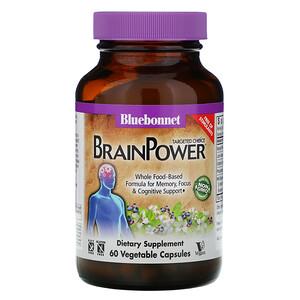 Блубоннэт Нутришен, Targeted Choice, BrainPower, 60 Vegetable Capsules отзывы
