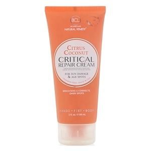BCL, Be Care Love, Natural Remedy, Critical Repair Cream, Citrus Coconut, 3 fl oz (89 ml) отзывы