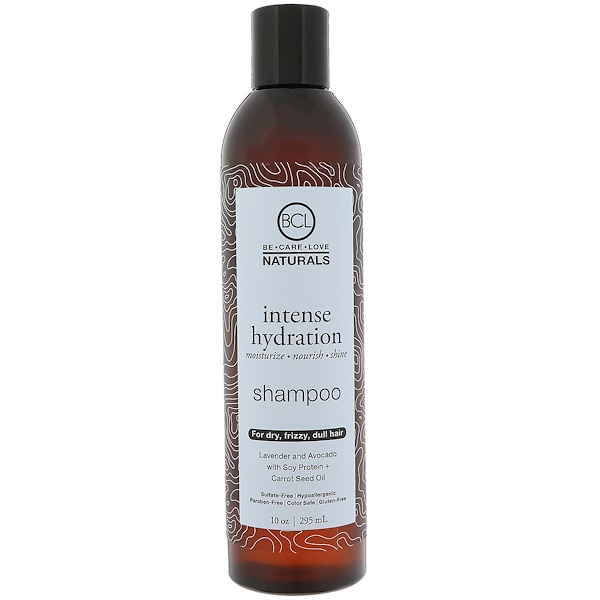 BCL, Be Care Love, Naturals, hidratación intensa, Shampú, 10 oz (295 ml)