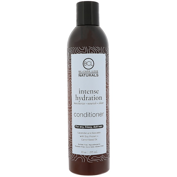 BCL, Be Care Love, Naturals, Hidración intensa, acondicionador, 10 oz (295 ml)