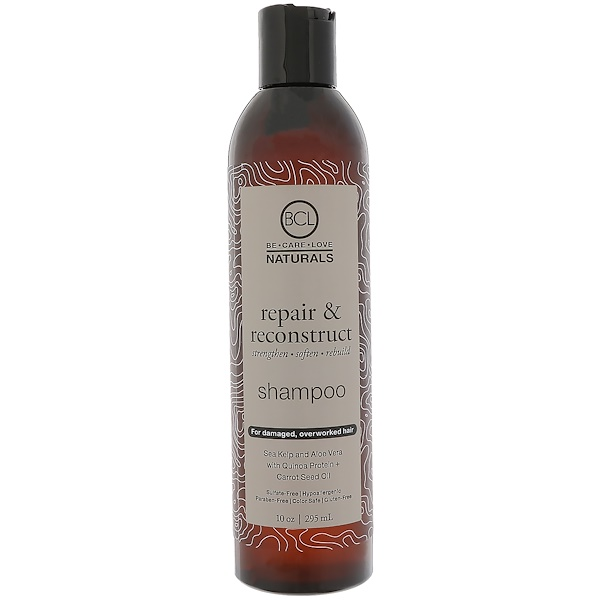 BCL, Be Care Love, Naturals, Repair & Reconstruct, Shampoo, 10 oz (295 ml)