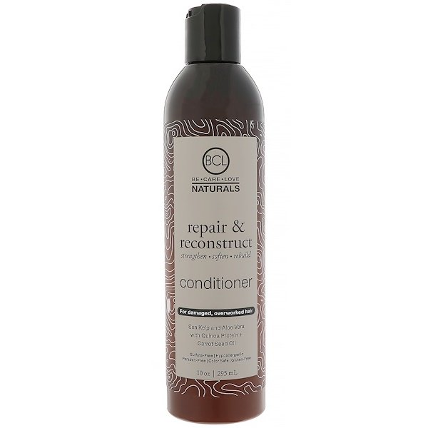 BCL, Be Care Love, Naturals, Repair & Reconstruct, Conditioner, 10 oz (295 ml)