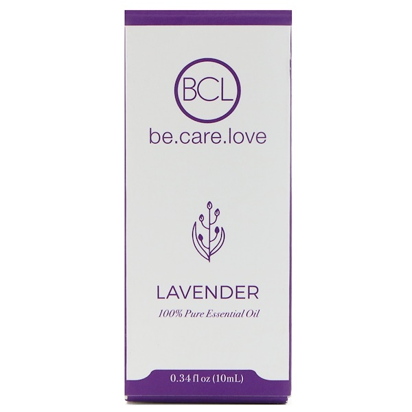 BCL, Be Care Love, 100% Pure Essential Oil, Lavender, 0.34 fl oz (10 ml)