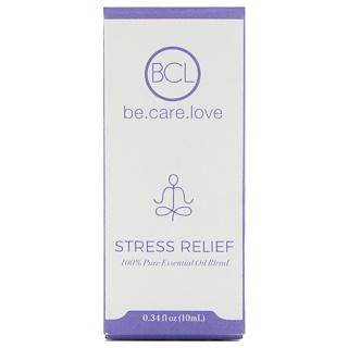 BCL, Be Care Love, 100% Pure Essential Oil Blend, Stress Relief, 0.34 fl oz (10 ml)