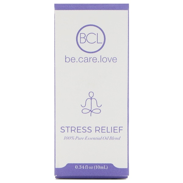 BCL, Be Care Love, Mélange d'huiles essentielles 100 % pures, Soulage le stress, 0.34 fl oz (10 ml) (Discontinued Item)