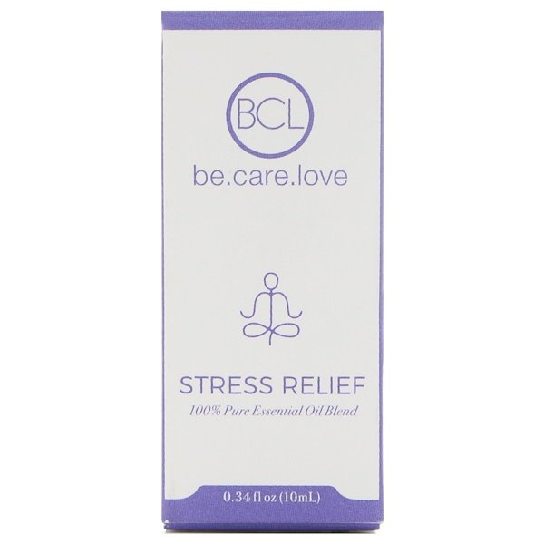 BCL, Be Care Love, 100% Pure Essential Oil Blend, Stress Relief, 0.34 fl oz (10 ml) (Discontinued Item)