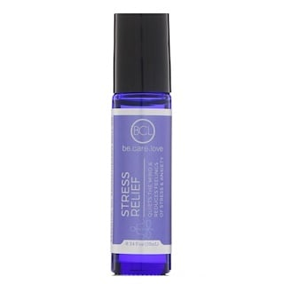 BLC, Be Care Love, Essential Oil Aromatherapy Roll-On, Stress Relief, 0.34 fl oz (10 ml)