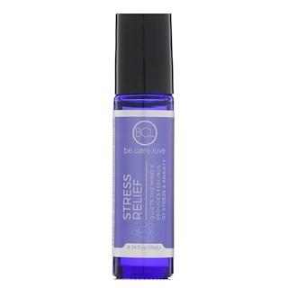 BCL, Be Care Love, Aromaterapia de aceites esenciales en presentación roll-on, alivio del estrés, 0.34 fl. Oz (10 ml)