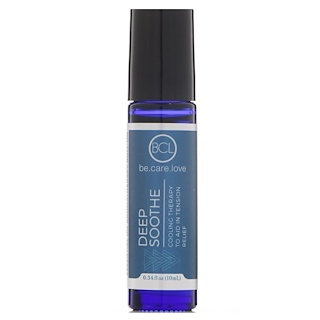 BCL, Be Care Love, Essential Oil Aromatherapy Roll-On, Deep Soothe, 0.34 fl oz (10 ml)