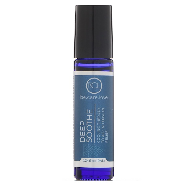 BCL, Be Care Love, Aromaterapia de aceites esenciales en presentación roll-on, alivio profundo, 0.34 fl. Oz (10 ml)