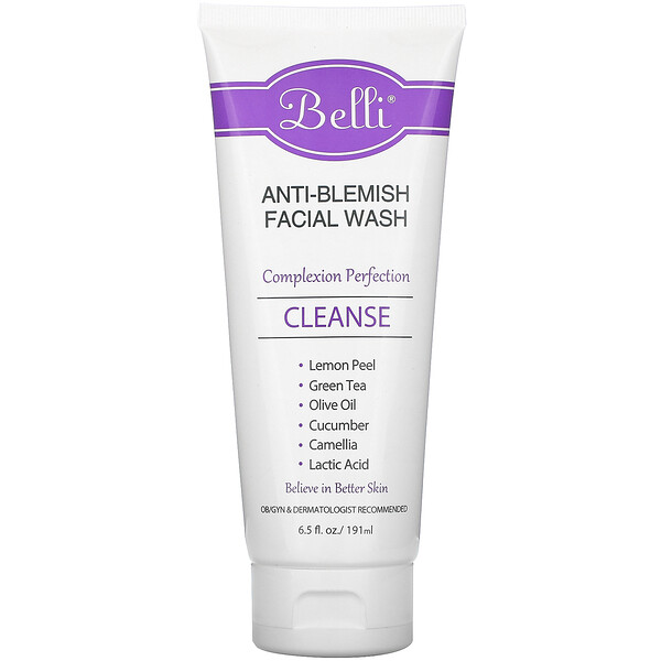 Anti-Blemish Facial Wash, 6.5 fl oz (191 ml)