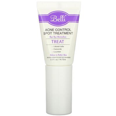 Belli Acne Control Spot Treatment, 0.5 fl oz (14.75 ml)