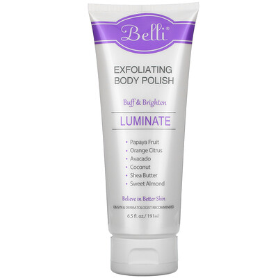 Купить Belli Exfoliating Body Polish, 6.5 fl oz (191 ml)