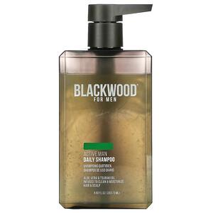 Blackwood For Men, Active Man Daily Shampoo, 8.92 fl oz (263.73 ml)