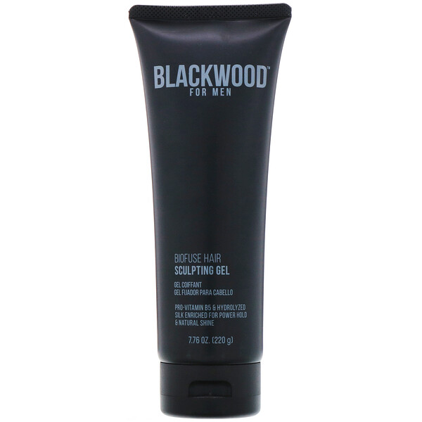 Blackwood For Men, BioFuse Hair, Gel para moldear el cabello, Para hombres, 220 g (7,76 oz)