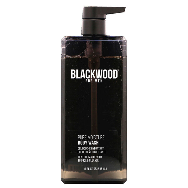 Blackwood For Men, Pure Moisture, Body Wash, For Men, 18 fl oz (532.35 ml)