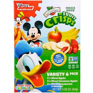 Брозерс Ол Начуралс, Fruit-Crisps, Disney Junior, Variety Pack, 6 Pack, 2.26 oz (64 g) отзывы покупателей