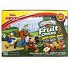 Brothers-All-Natural, Disney Junior,水果酥,凍乾水果片,多種口味,12 包裝,4 盎司(113 克)