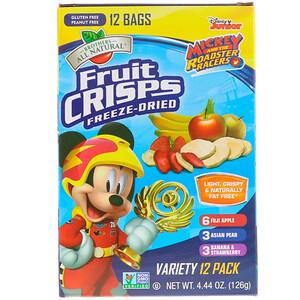 Брозерс Ол Начуралс, Disney Junior, Freeze Dried — Fruit Crisps, Variety Pack, 12 Pack, 4.44 oz (126 g) отзывы покупателей