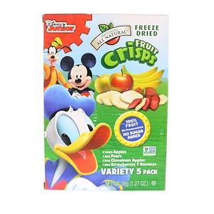 Брозерс Ол Начуралс, Fruit Crisps, Disney Junior, Variety Pack, 5 Single Serve Pack отзывы
