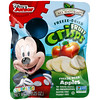 Brothers-All-Natural, 水果脆皮,小小迪士尼,蘋果和肉桂蘋果,5包裝,1.23盎司(35克)