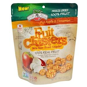 Брозерс Ол Начуралс, Fruit Clusters, Bite-Size Fruit Snacks!, Fuji Apple & Cinnamon, 1.25 oz (35 g) отзывы