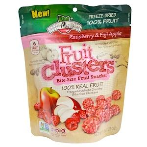 Брозерс Ол Начуралс, Fruit Clusters, Bite-Size Fruit Snacks!, Raspberry & Fuji Apple, 1.25 oz (35 g) отзывы покупателей