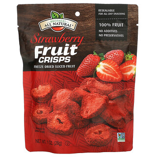 Brothers-All-Natural, Fruit Crisps, Strawberries, 1 oz (28 g)