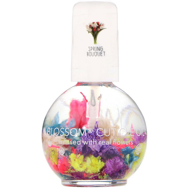 Cuticle Oil, Spring Bouquet, 0.42 fl oz (12.5 ml)