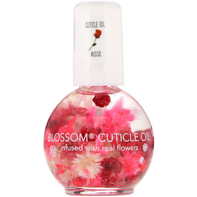 Купить Blossom Масло для кутикулы, роза, 12, 5мл
