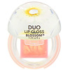 Blossom, Duo Lip Gloss, White Flower, 0.28 oz (8 g)