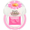Blossom, Duo Lip Gloss, Magenta Flower, 0.28 oz (8 g)