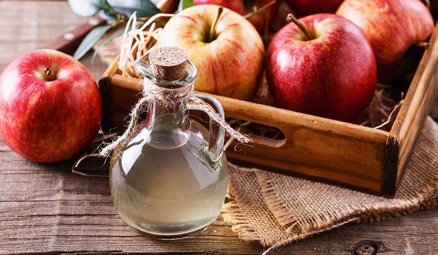 el vinagre de manzana para la tos