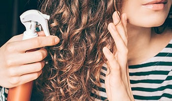 Create Effortless Beachy Waves With Homemade Sea Salt Spray