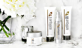 Day and Nighttime Skincare Featuring Azelique Products