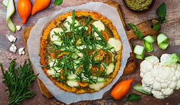 Healthy, Delicious Gluten-Free Zucchini Pizza Crust