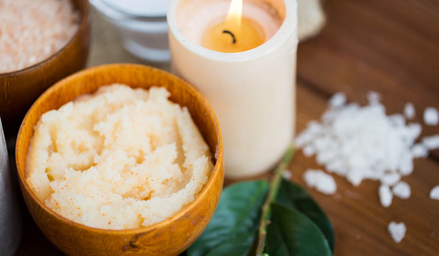 Homemade Natural Body Scrubs