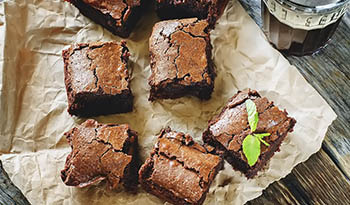 Brownies de 3 ingredientes CocoCeps da Madre Labs